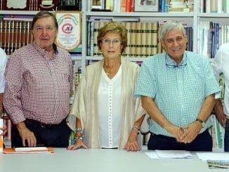 Reunión de concejales de Ciudadanos con la Asociación de Vecinos 'Islas Saltés'.