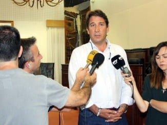 Ruperto Gallardo, portavoz de Ciudadanos en Diputación.