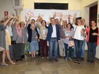 La localidad se ha volcado con el Ayuntamiento a la hora de apoyar la candidatura
