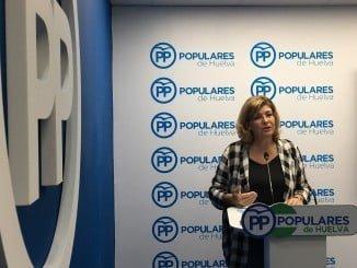 La viceportavoz del Grupo Municipal Popular, Berta Centeno