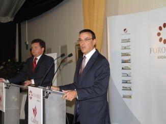 El presidente de la Diputación pide la unión de todos para situar a Huelva en la agenda iberoamericana