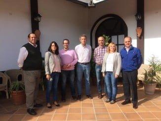Representantes de los diferentes clubs se han reunido en El Rocío