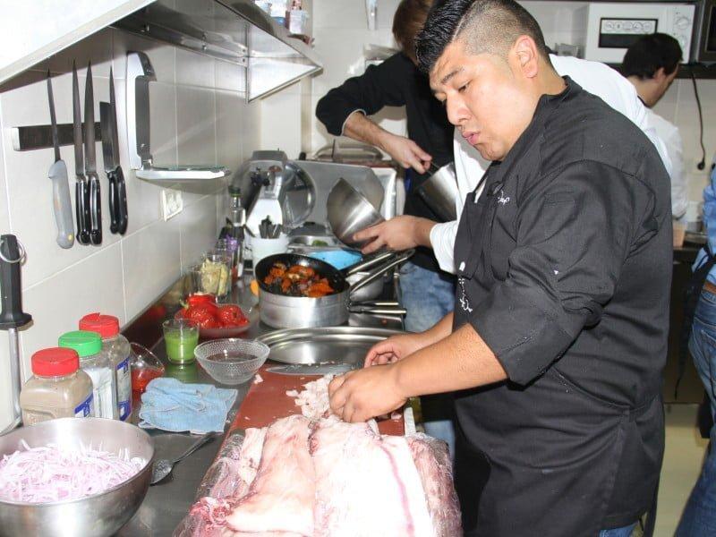 Se fusionan en la cocina sabores e ingredientes de varias culturaas