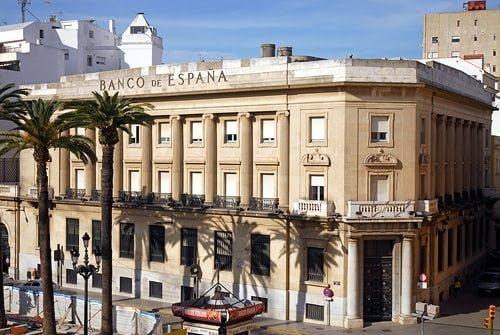 Edificio del Banco de España en Huelva