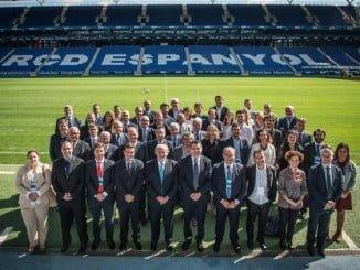La Liga presentó a las Fundaciones el proyecto 'Fair play social' que llevará el despacho de Huelva, Gaudia, a nivel nacional