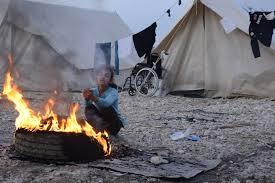 Apoyar a esas personas que sufren directamente los desastres de las guerras