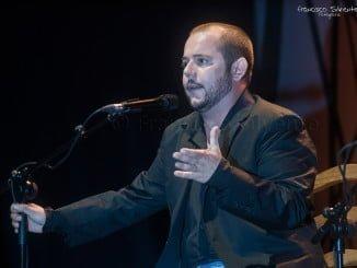 El cantaor flamenco Jeromo en una de sus actuaciones