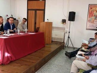 El delegado de Agricultura y el alcalde de Aracena inauguran las jornadas técnicas