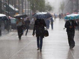 La llegada de un frente atlántico muy activo a la Península dejará fuertes lluvias en la provincia