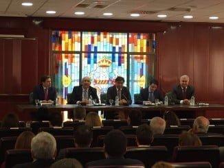 Imagen de un acto celebrado en el Colegio Oficial de Peritos e Ingenieros Técnicos Industriales de Huelva