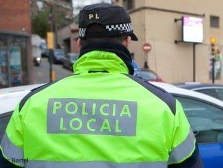 La Policía Local detuvo al presunto agresor