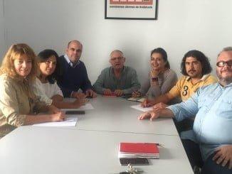 Los concejales del PP han mantenido un primer encuentro con los delegados sindicales de CCOO