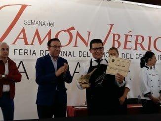 Antonio González Cárdeno, con 25 años, de Cumbres Mayores ha resultado el ganador del concurso