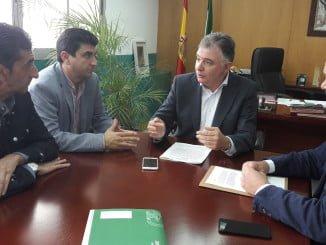 El delegado del Gobierno aborda con los agentes sociales el acuerdo