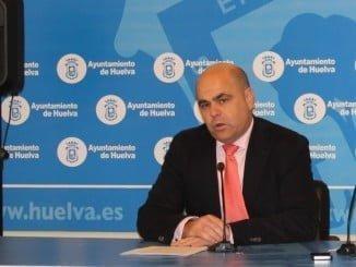 Saúl Fernández, concejal del PP en el Ayuntamiento de Huelva