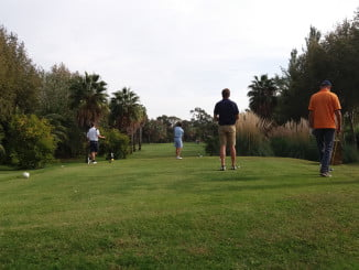 La 'Andalucía Sol Cup' ha incluido un torneo de golf