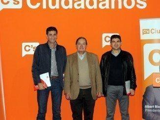 Ciudadanos y sindicatos UGT y CC OO han analizado la preocupante situación sociolaboral de Huelva
