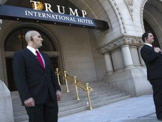 Uno de los hoteles de Donald Trump