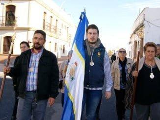 La Alcaldesa ha acompañado a la Hermandad en esta Peregrinación hacia El Terrón .