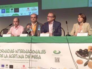 Rosa Ríos en las VI Jornadas Internacionales de la Aceituna de Mesa