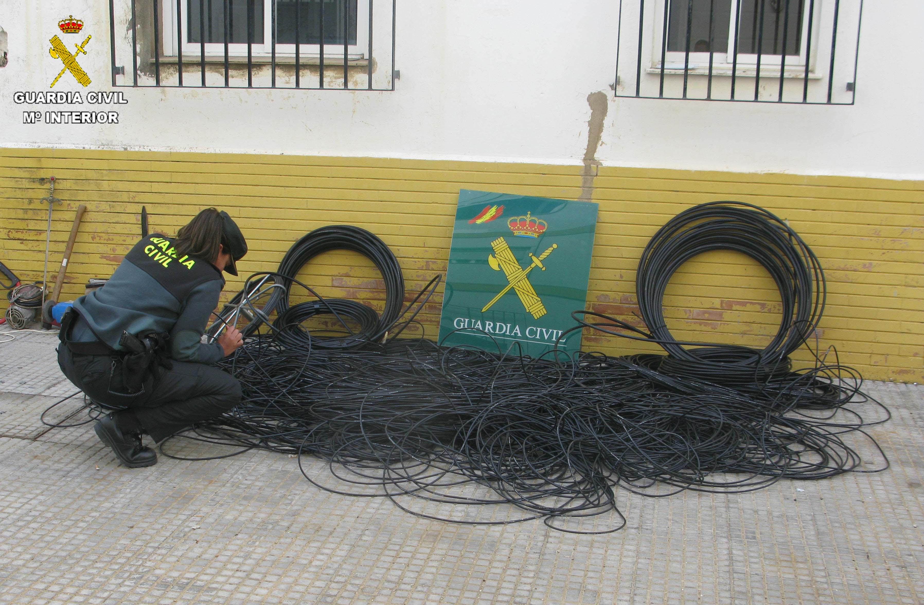 El cable sustraído será devuelto a sus propetarios