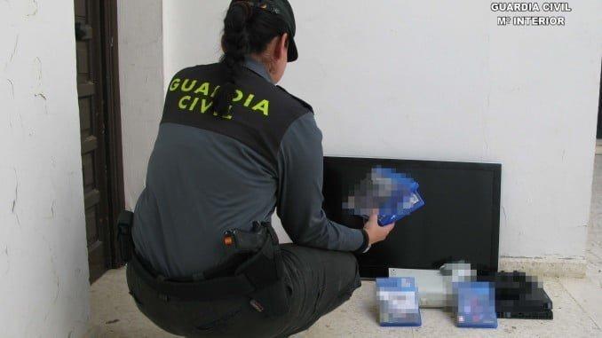 La Guardia Civil detuvo a los individuos en la operación Saltimbanqui