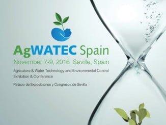 Agwatec Spain 2016, 7-9 noviembre. Fibes, Sevilla