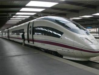 Sube el 3% el transporte ferroviario en octubre, y el AVE sube un 1,5%