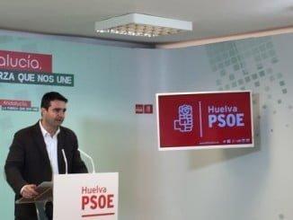 Amaro Huelva, coordinador del grupo parlamentario socialista y senador por Huelva