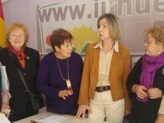 Asociación de Amigos del Museo con concejales de IU en el Ayuntamiento de Huelva