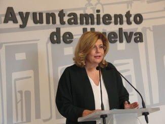 La viceportavoz del Grupo Popular en el Ayuntamiento de Huelva, Berta Centeno