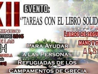 Cartel del XII Evento Tareas con el Libro Solidario