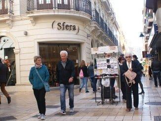 Andalucía baja sus ventas en octubre