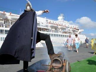 Por puerto llegaron este mes de febrero un 9,8% de turistas más