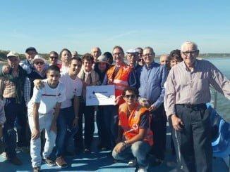 Cruz Roja reclama la protección del medio marino con una travesía en barco