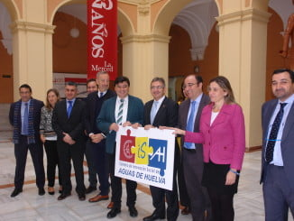 Mediante acuerdo UHU-EMAHSA se ha creado esta mañana la Cátedra de Aguas de Huelva