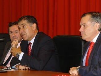 El presidente del TSJA abre el ciclo de conferencias sobre Justicia en la UHU