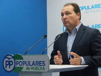 David Toscano, secretario general del PP de Huelva