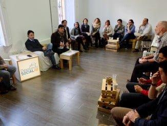 El alcalde se ha reunido con miembros del centro de negocios Desatando Social Lab