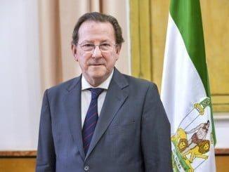 Emilio de Llera Suárez-Bárcena, consejero de Justicia e Interior