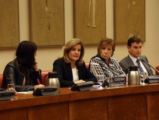 La ministra comparece ante la Comisión no Permanente del Pacto de Toledo