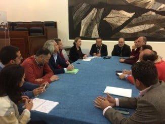 Reunión de la FOE, representada por su secretaria general, con el Patronato de Turismo