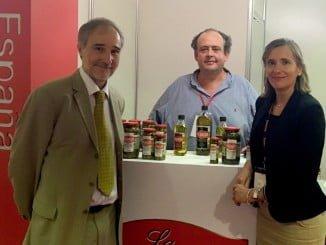 La consejera delegada de Extenda, Vanessa Bernad, acompañó a la delegación de empresas