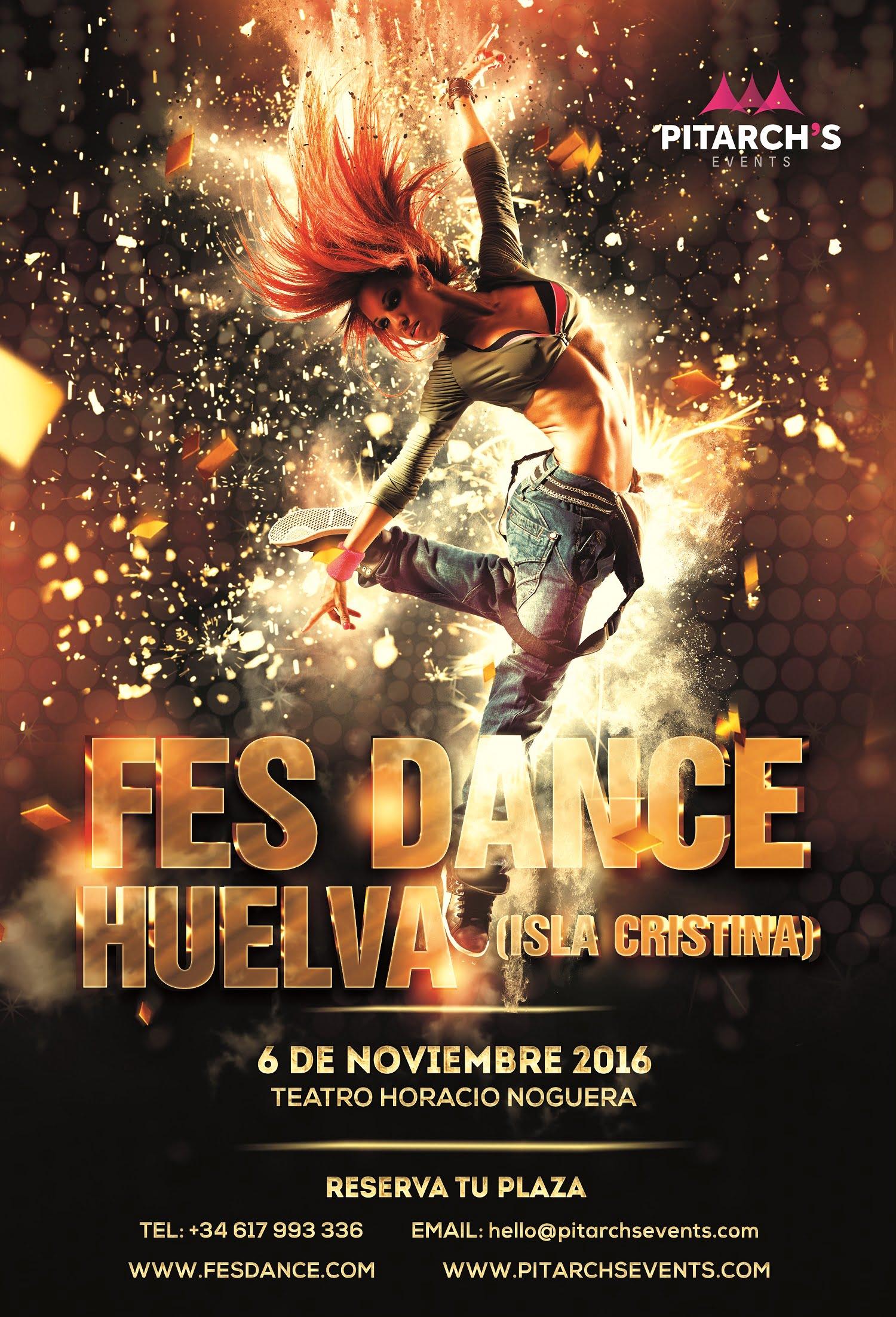 Cartel anunciador de la edición de FesDance 2016