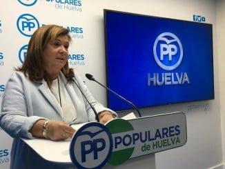 Céspedes lamenta el trato presupuestario de la Junta hacia Huelva
