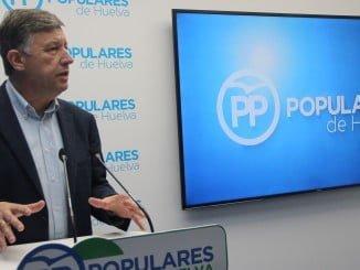 Romero subraya que en Huelva hay 1.600 autónomos más que al principio de la pasada legislatura