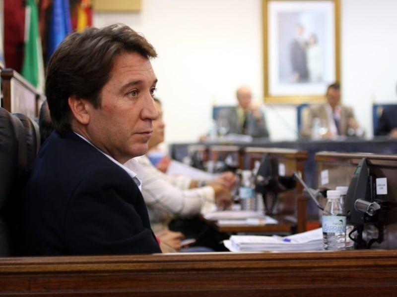 Gallardo ha visto cómo se aprobaban las tres mociones presentadas por su grupo