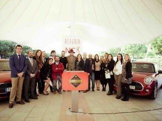 El acto de la entrega de vehículos ha tenido lugar en la Avenida de Andalucía
