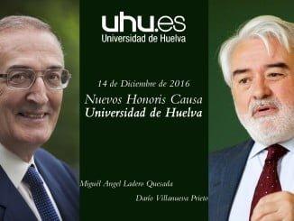 Darío Villanueva y Miguel Ángel Ladero serán investidos el 14 de diciembre