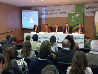Inauguración del I Foro Estratégico de la Citricultura de Huelva